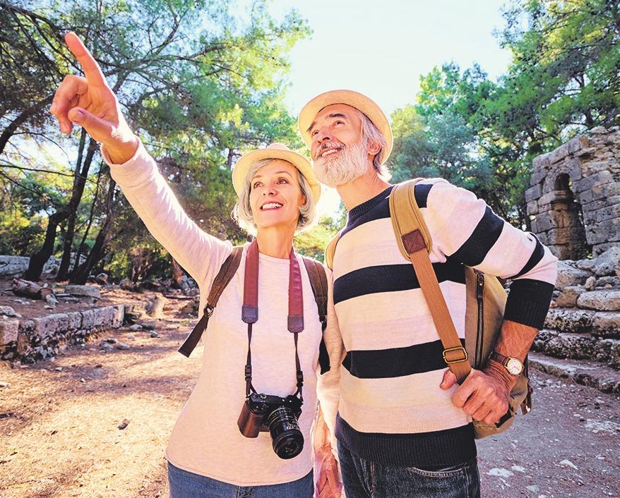 Nach der Berufstätigkeit können sich Senioren neue Ziele setzenBild: luengo_ua/stock.adobe.com