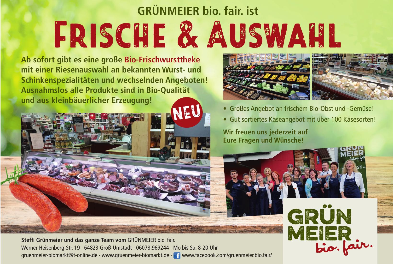 Grünmeier Biomarkt