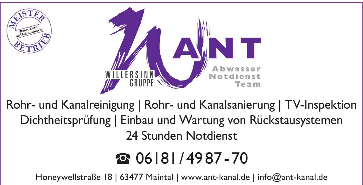 ANT Abwasser Notdienst Team