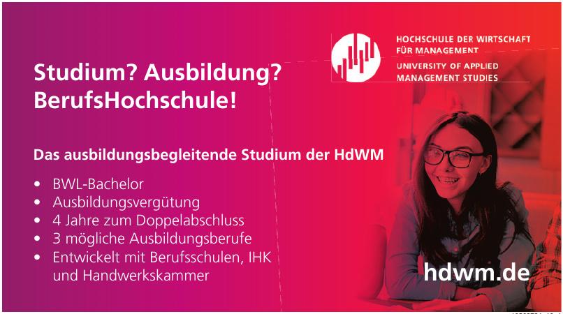 Hochschule der Wirtschaft für Management (HdWM)