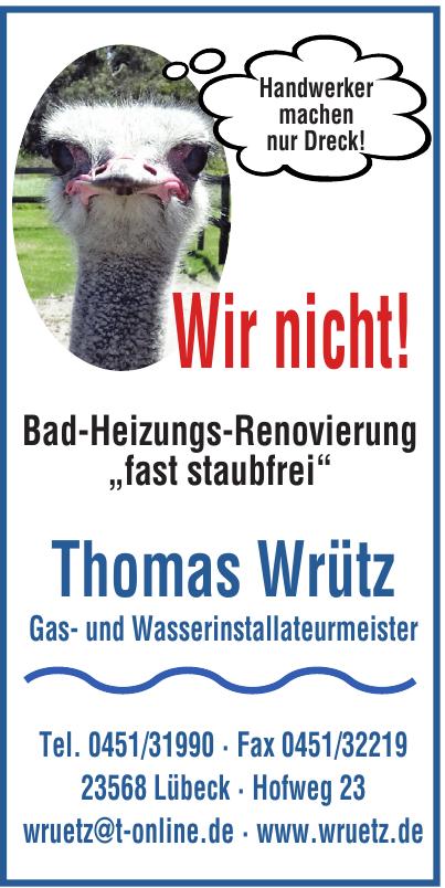 Thomas Wrütz