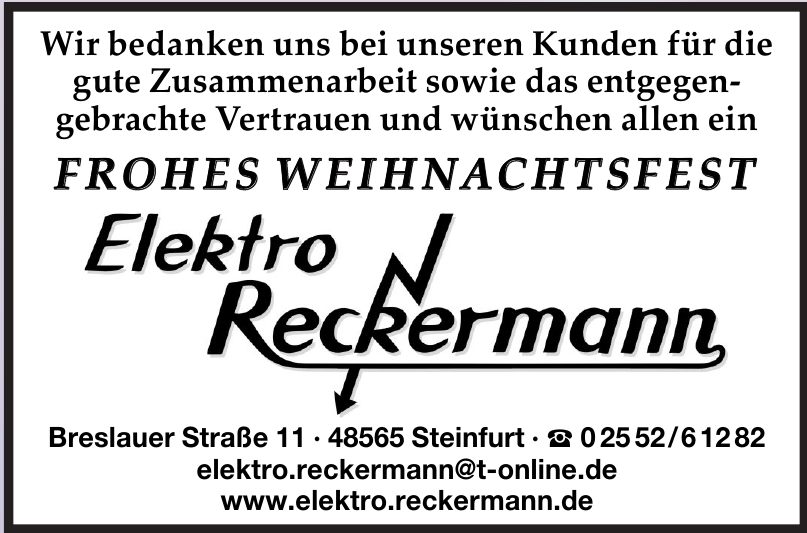 Eelektro Reckermann