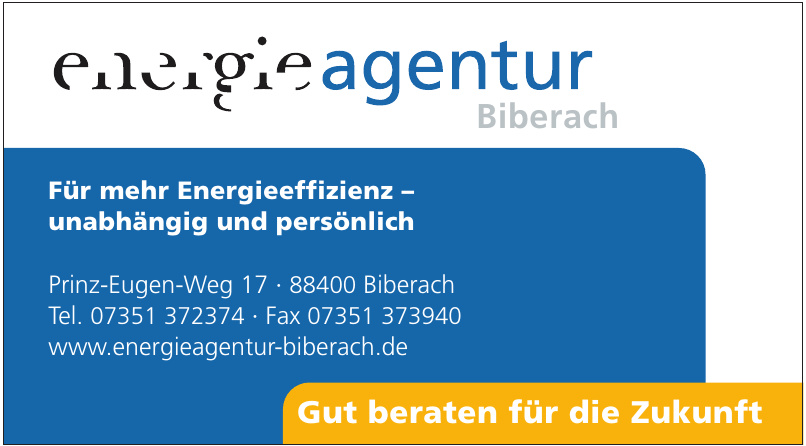 Energie Agentur Biberach