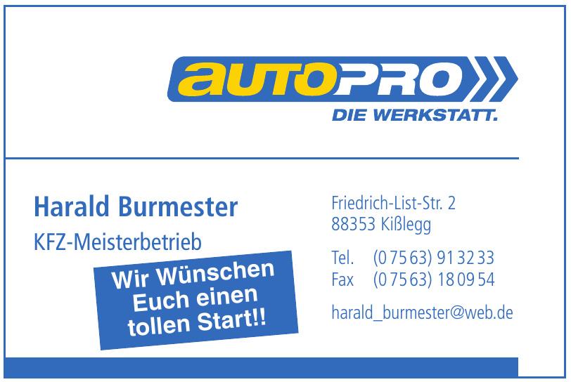 AutoPro KFZ-Meisterbetrieb Harald Burmester