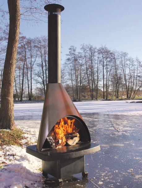 Wärme bei eisiger Kälte. Foto: Leo Gey