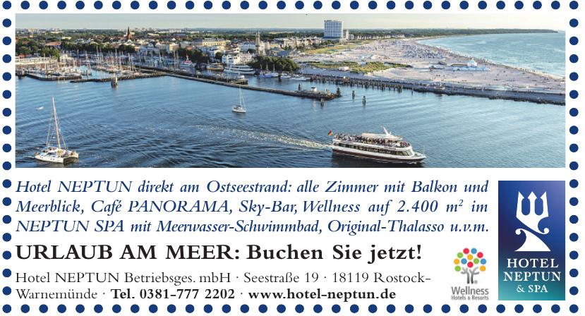 Hotel NEPTUN Betriebsges. mbH