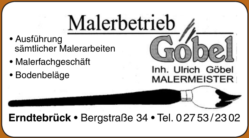 Malerbetrieb Göbel