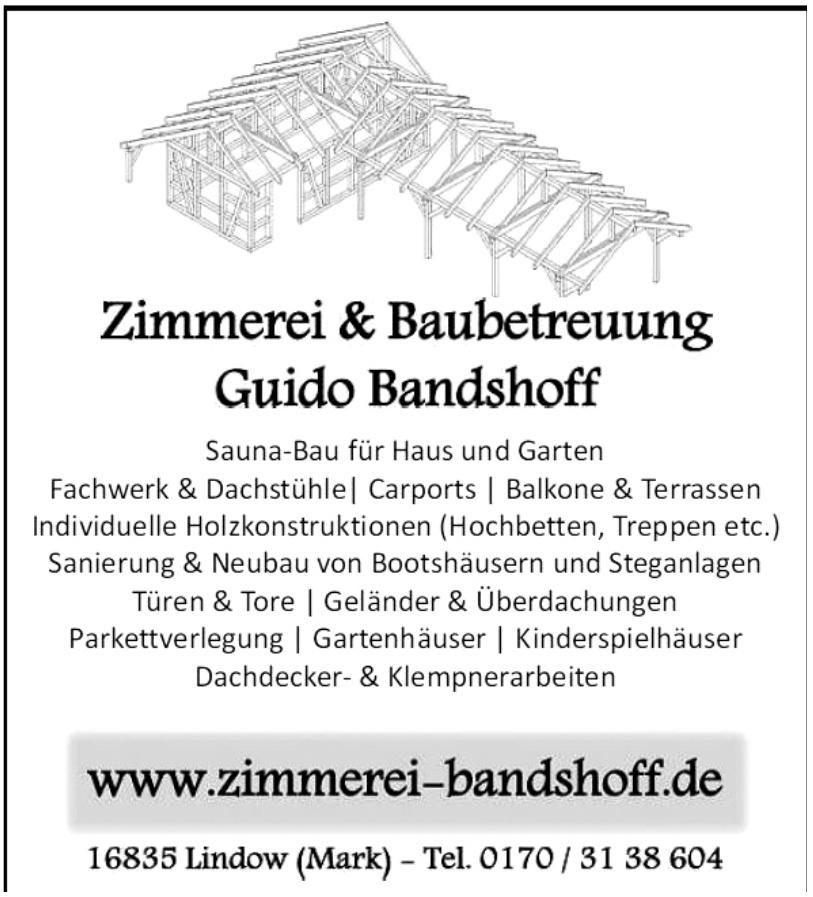 Zimmerei Guido Bandshoff