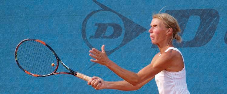 Damen 55: Susanne Weiß (TC Aspria, Foto) lieferte sich mit Ingeborg Unger (NTSV Strand) das engste Match. Ingeborg Unger gewann 3:6, 6:1, 13:11.