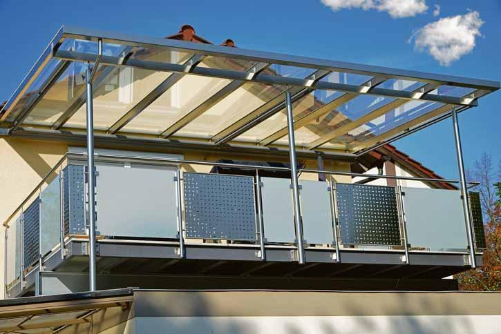 Terrassendächer sind vielseitig einsetzbar und bieten das besondere Etwas: Fotos: BF/Glas Trösch Sanco Beratung