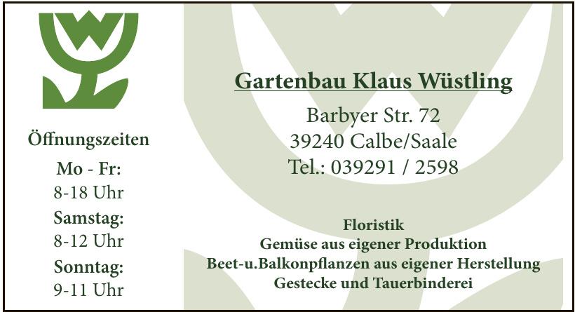 Gartenbau Klaus Wüstling