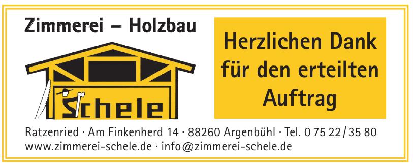 Zimmerei - Holzbau Schele