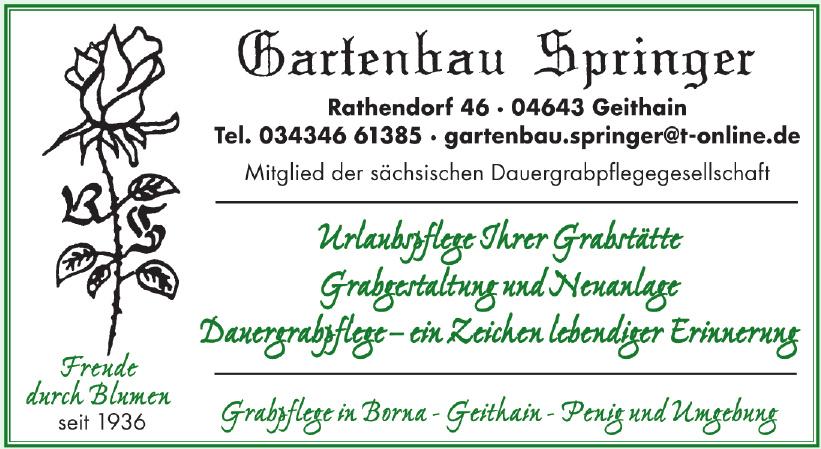 Gartenbau Springer
