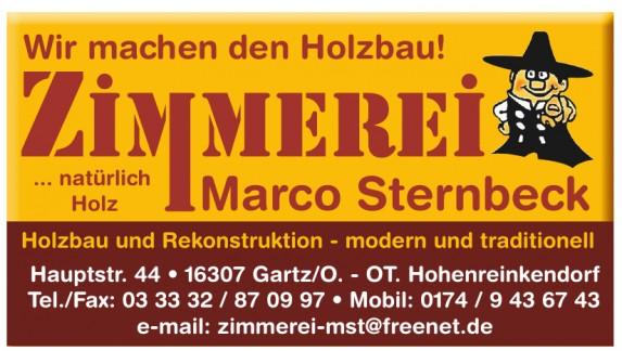 Zimmerei Marco Sternbeck