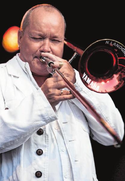 Mit krachenden Gitarrenriffs und weich groovenden Orgelakkorden verzaubern Nils Landgren und seine Funk Unit seit über 25 Jahren das Publikum.