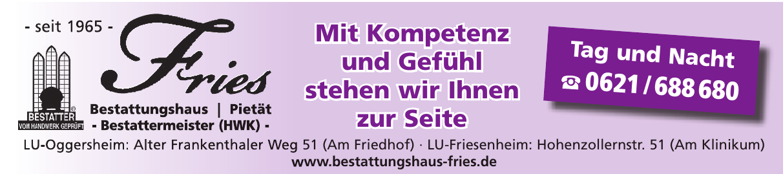 Bestattungshaus Fries