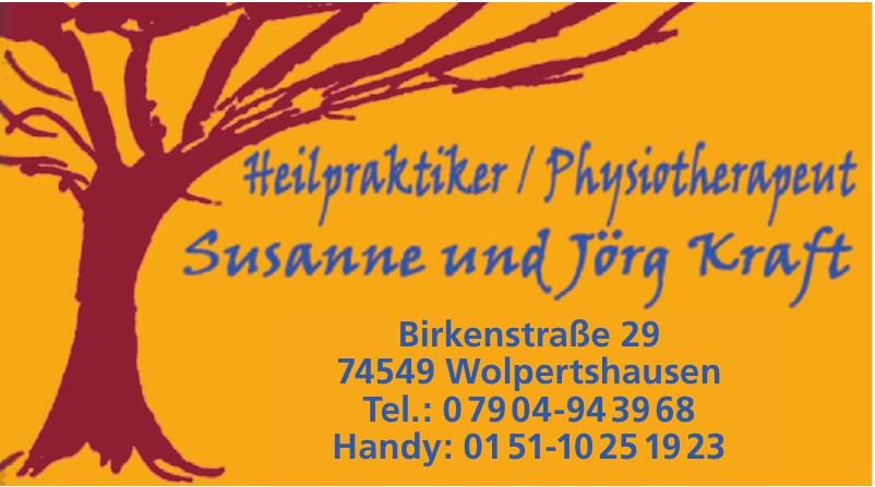 Heilpraktiker / Physiotherapeut Susanne und Jörg Kraft