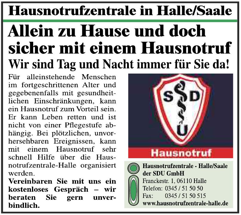 Hausnotrufzentrale-Halle/Saale