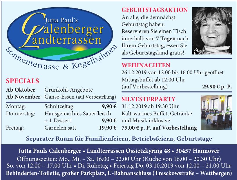 Jutta Pauls Calenberger Landterrassen
