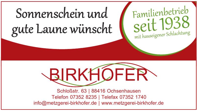 Metzgerei Birkhofer GmbH