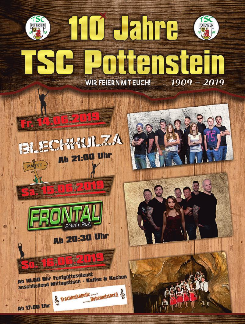 110 Jahre TSC Pottenstein