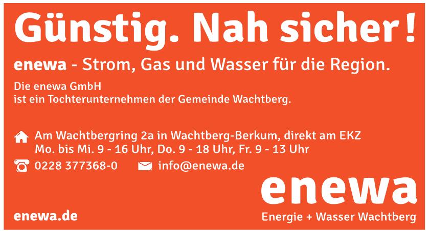 Enewa Energie + Wasser