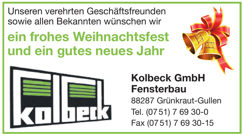 Kolbeck GmbH Fensterbau