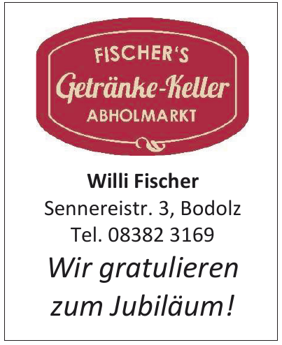 Fischer´s Getränke-Keller Abholmarkt