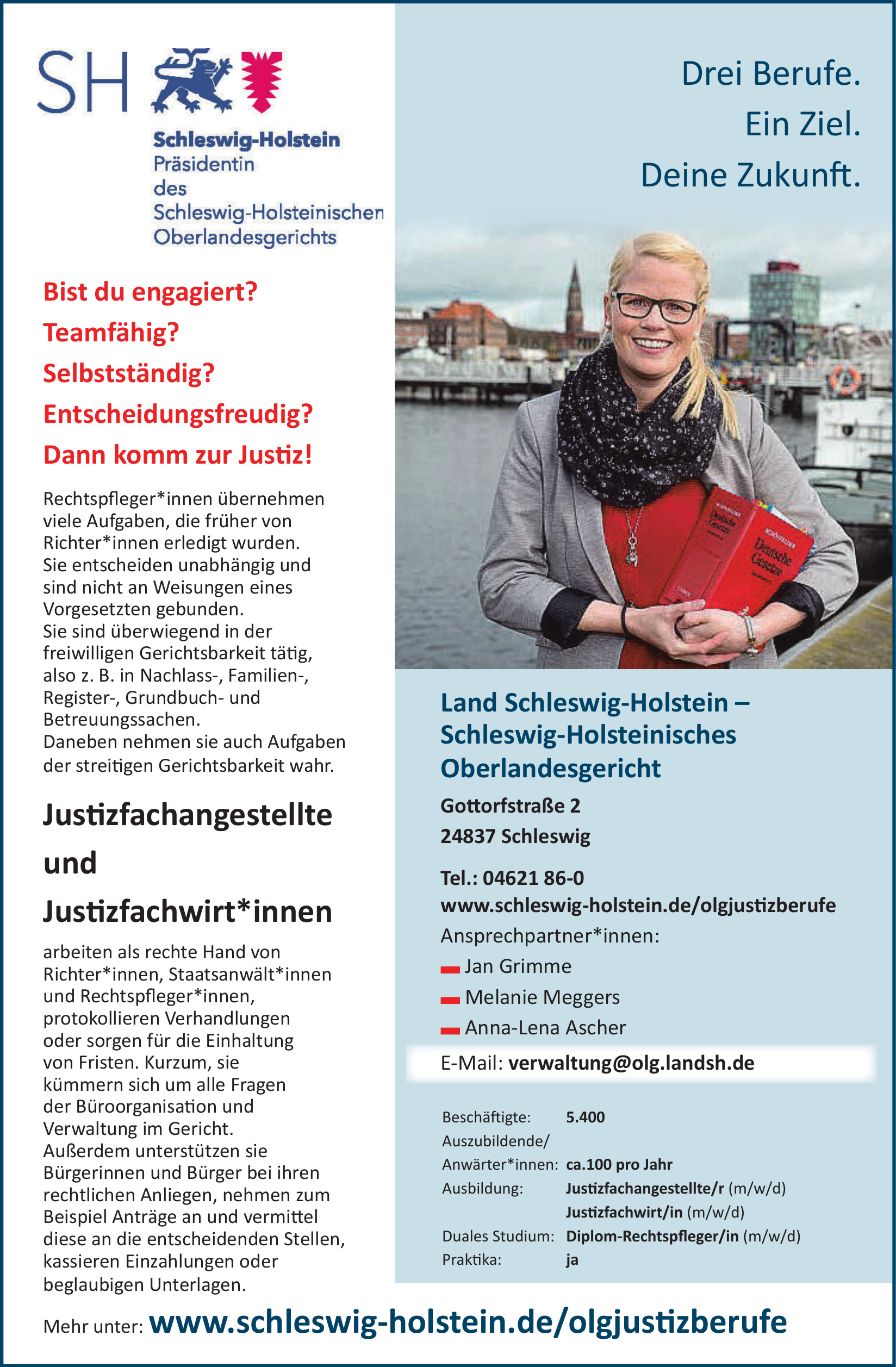 Land Schleswig-Holstein – Schleswig-Holsteinisches Oberlandesgericht