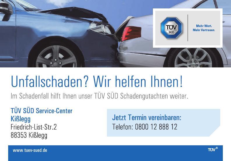 TÜV SÜD Service-Center Kißlegg