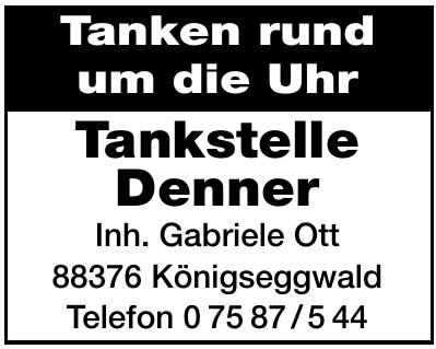 Tankstelle Denner