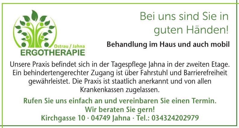 Ergotherapie Ostrau/Jahna