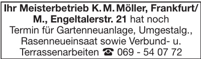 Meisterbetrieb K. M. Möller
