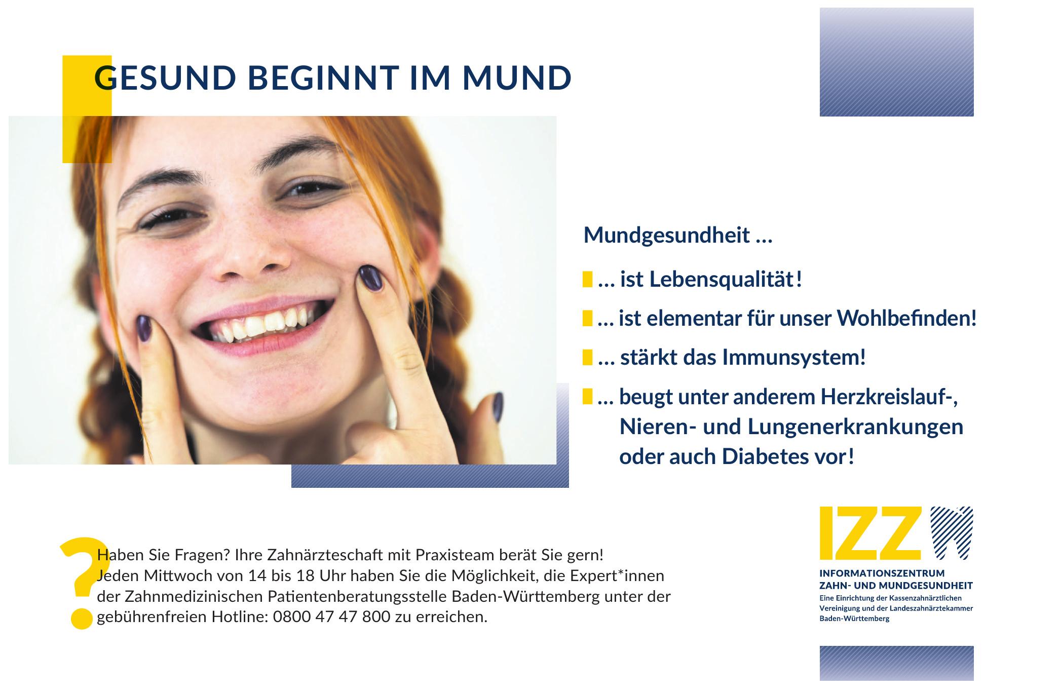 Informationszentrum Zahn- und Mundgesundheit Baden-Württemberg (IZZ)
