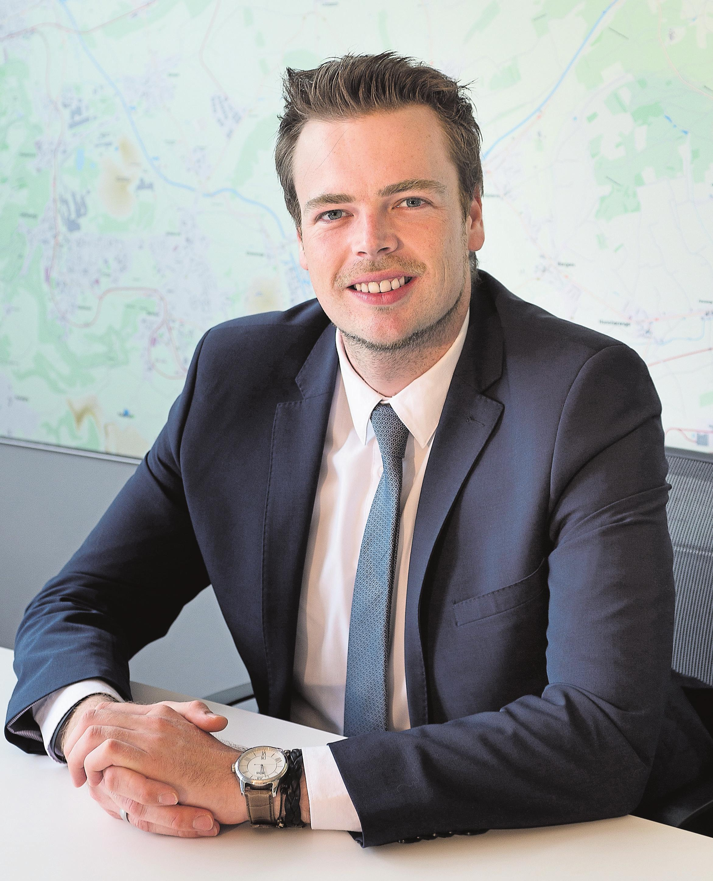Robby Cluyssen, Director JLL Luxembourg – Residential.