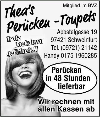 Thea's Perücken -Toupets