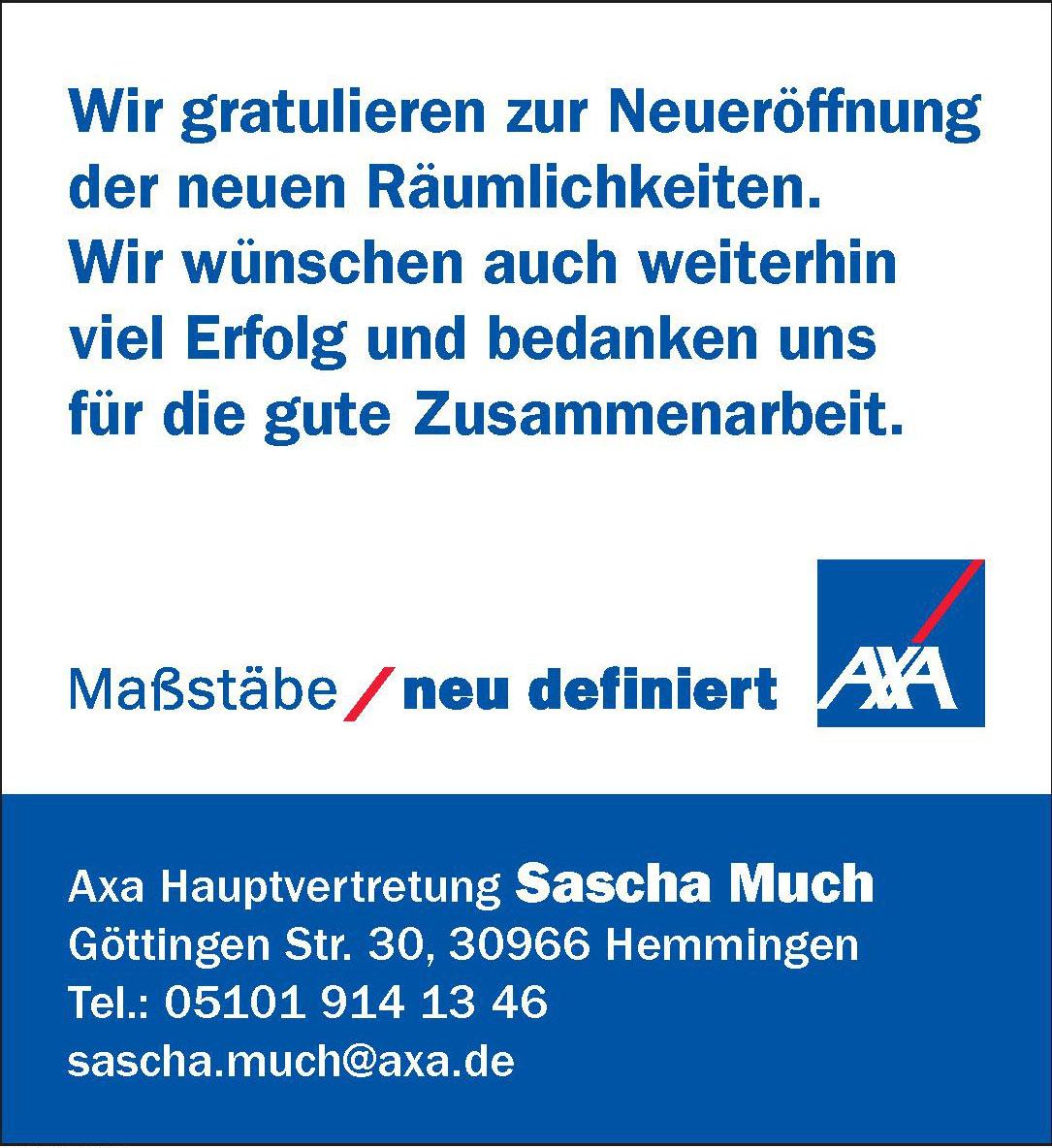 Axa Hauptvertretung Sascha Much