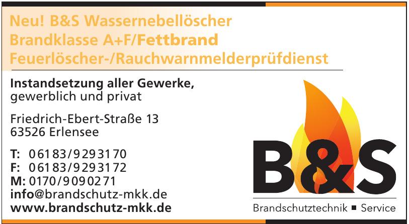 B & S Brandschutztechnik - Service