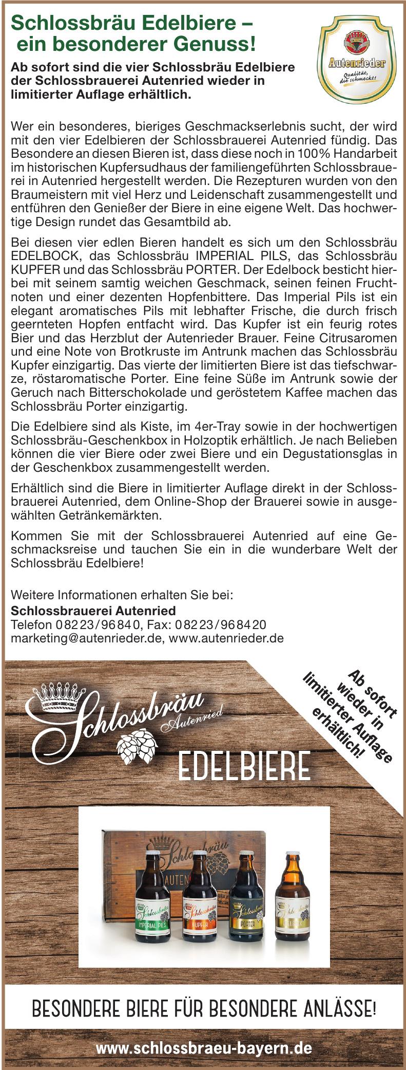 Schlossbrauerei Autenried