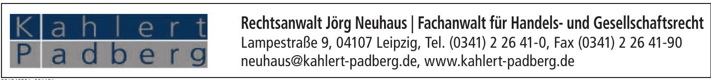 Rechtsanwalt Jörg Neuhaus