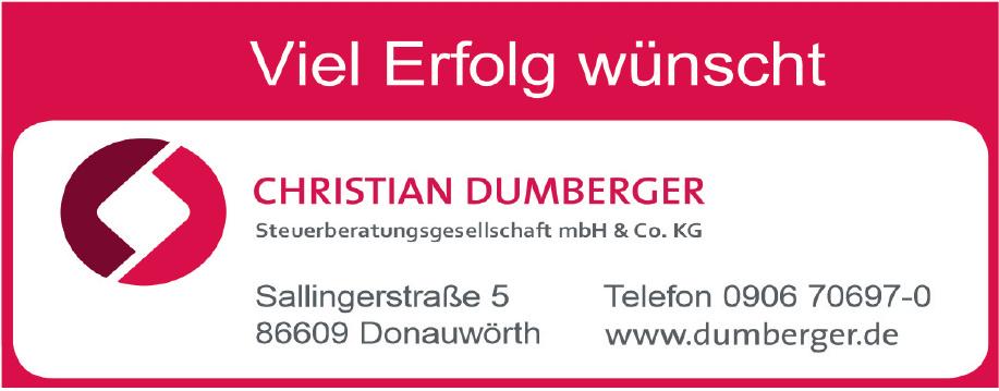 Christian Dumberger Steuerberatungsgesellschaft mbH & Co. KG