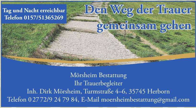 Mörsheim Bestattung