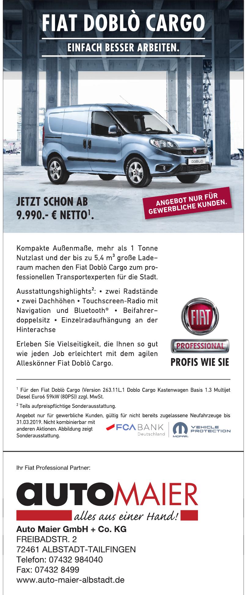 Auto Maier GmbH + Co. KG