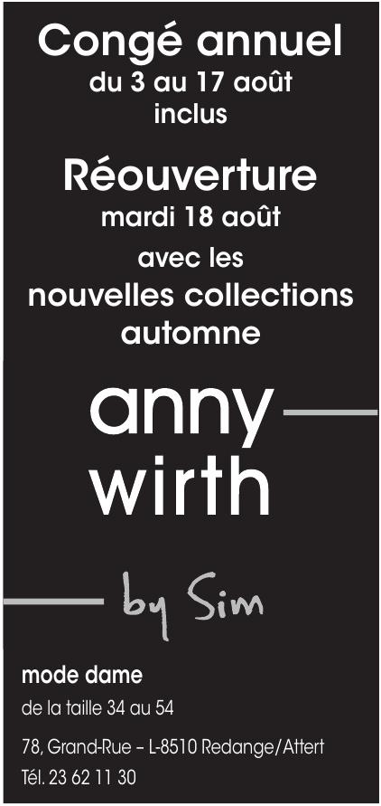 Anny Wirth by Sim