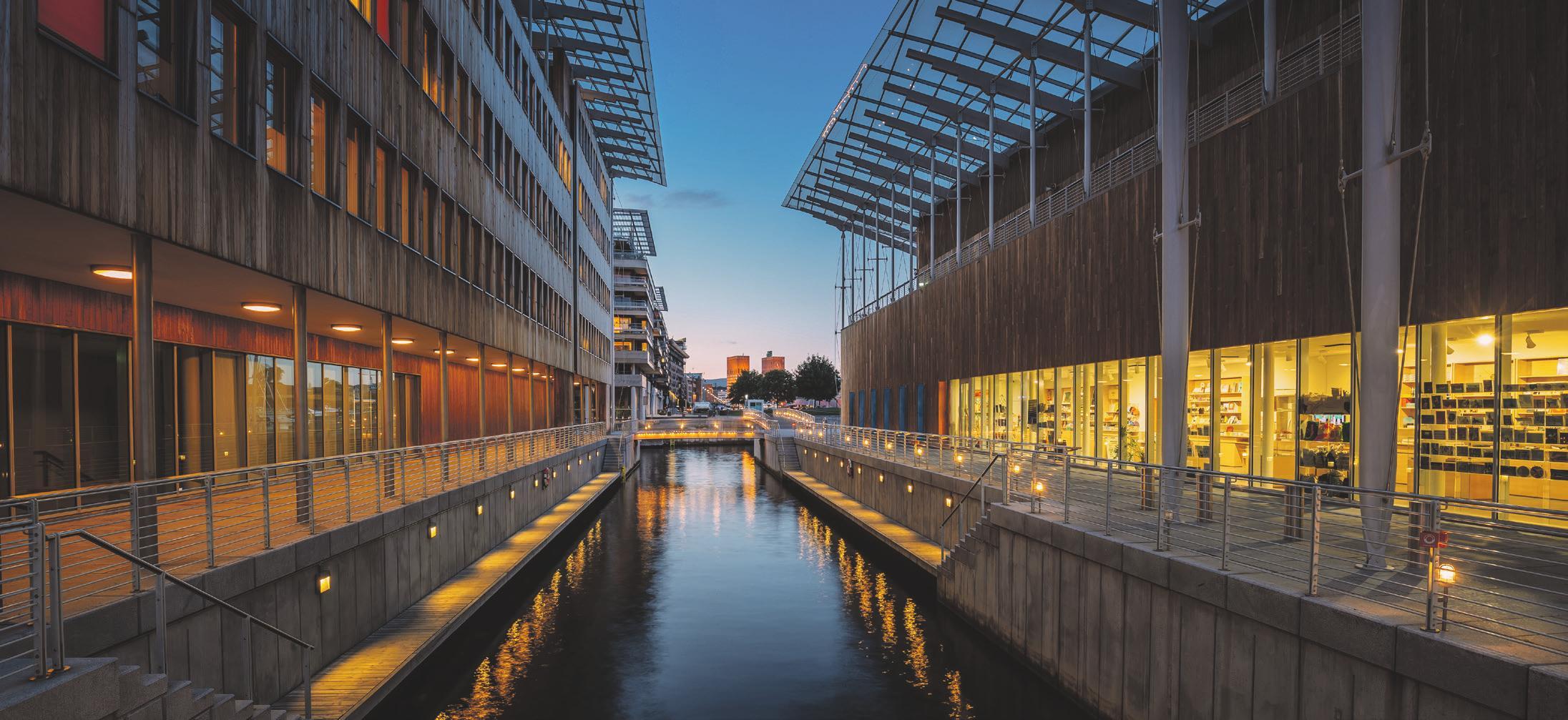 Holz wirkt: Ob an der modernen Holzfassade beim Astrup Fearnley Museum of Modern Art in Norwegens Hauptstadt Oslo oder im Privathaus in der wilden Natur der Lofoten (Foto unten). Foto: Shutterstock | Grisha Bruev