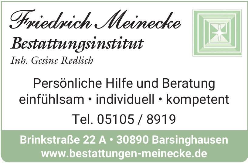 Friedrich Meinecke Bestattungsinstitut