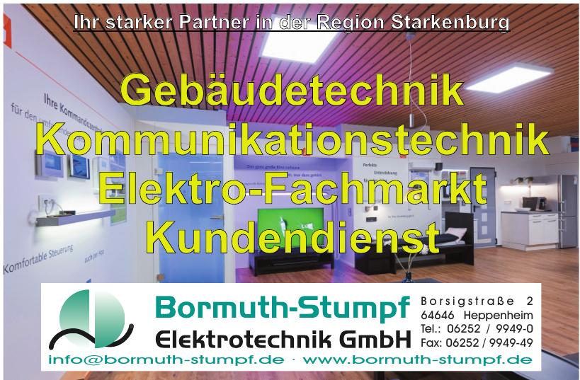 Bormuth-Stumpf Elektrotechnik GmbH