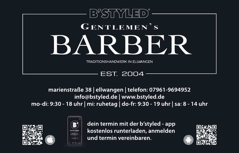 B´Styled Gentlemen´s Barber