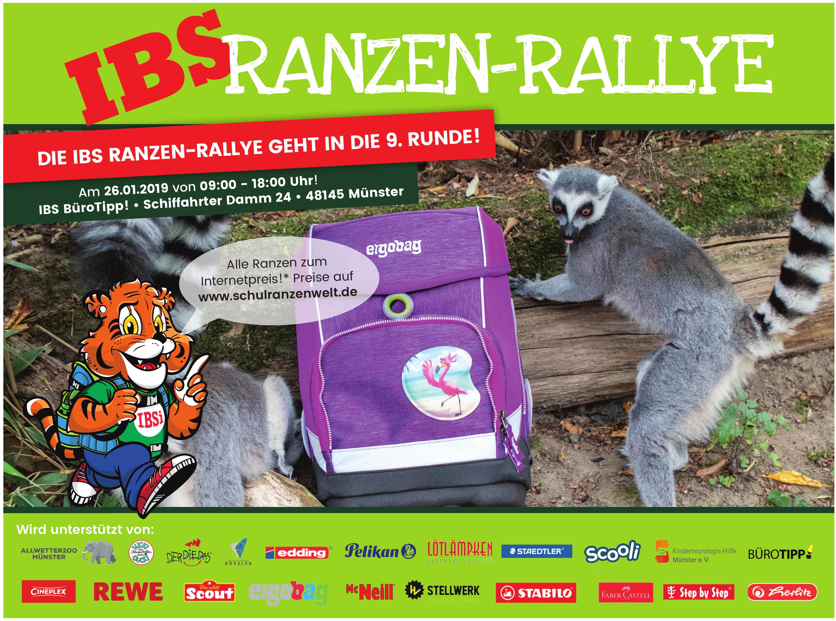 Ranzen Rallye Ibs Bürotipp Am Schiffahrter Damm 24 In Münster