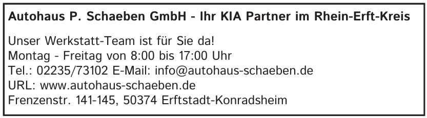 Autohaus P. Schaeben GmbH